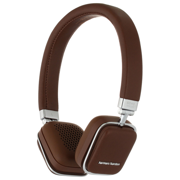 Наушники Bluetooth Harman/Kardon Soho BT Brown (HKSOHOBTBRN). Доставка по России