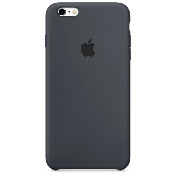 Чехол для iPhone Apple iPhone 6s Plus Silicone Case Charcoal Gray