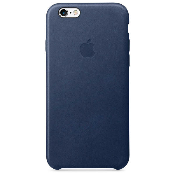 Чехол для iPhone Apple iPhone 6/6s Leather Case Midnight Blue чехлы для телефонов boom case чехол для iphone 6 6s ананасы