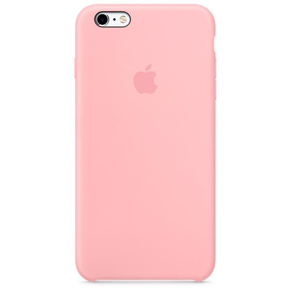 Купить Чехол для iPhone Apple iPhone 6 6s Silicone Case Pink в ... 956986873eddf