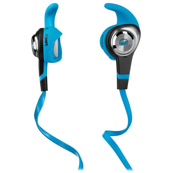 Спортивные наушники Monster iSport Strive In-Ear Blue (137025-00) наушники monster isport bluetooth wireless in ear blue 128659 00