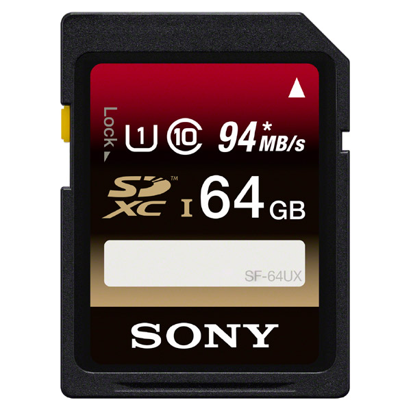 Карта памяти SDHC Sony SF-64UX/T