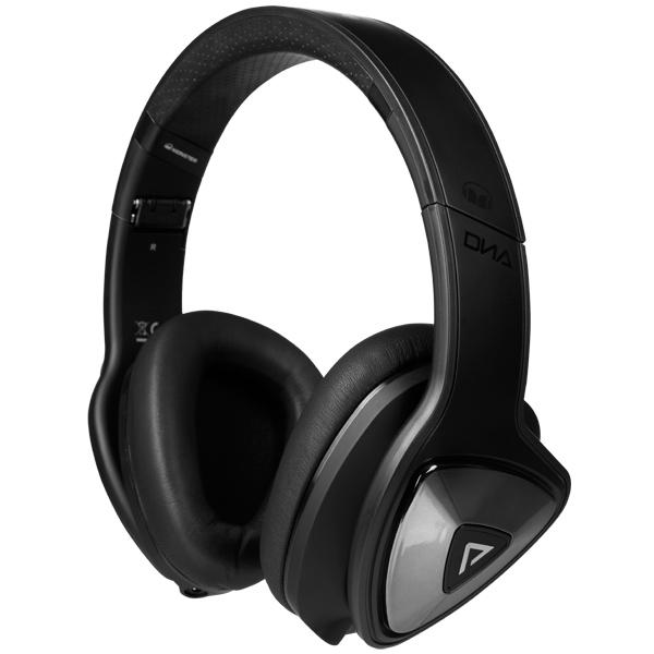 Наушники полноразмерные Monster DNA Pro 2.0 Over-Ear Matte Black (137021-00) monster monster dna on ear headphones carbon black