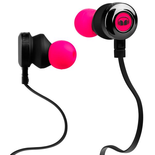 Наушники внутриканальные Monster — Clarity HD In-Ear Neon Pink (128668-00)