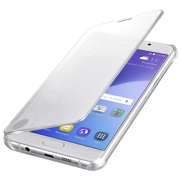 Чехол для сотового телефона Samsung Clear View Cover A5 2016 Silver (EF-ZA510CSEGRU) samsung samsung clear view cover для samsung galaxy s7 чехол обложка полиуретан серебристый