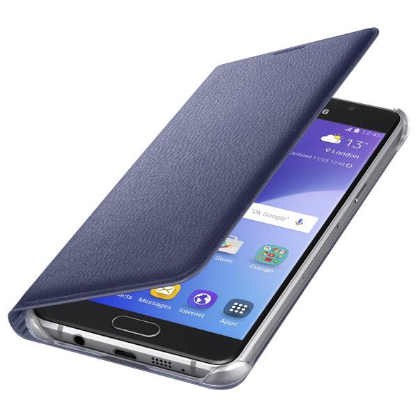 Чехол для сотового телефона Samsung Flip Wallet A5 2016 Black (EF-WA510PBEGRU) цена и фото