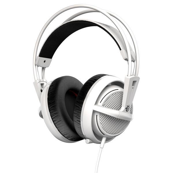 игровые наушники steelseries siberia v2 full size headset msi edition Игровые наушники Steelseries Siberia 200 White (51132)