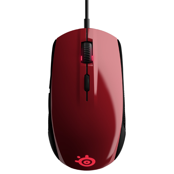 Игровая мышь Steelseries Rival 100 Forged Red (62337) картридж cactus cs q2612as для принтеров hp laser jet 1010 1012 1015 1018 1020 1020 plus 1022 3015 3020 3030 3050 3050z 3052 3055 m1005 m