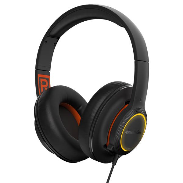 игровые наушники steelseries siberia v2 full size headset msi edition Игровые наушники Steelseries Siberia 150 Black (61421)