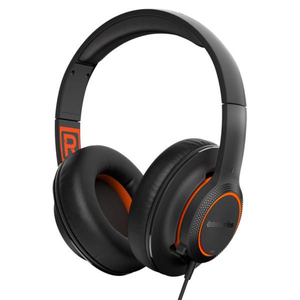 игровые наушники steelseries siberia v2 full size headset msi edition Игровые наушники Steelseries Siberia 100 Black (61420)
