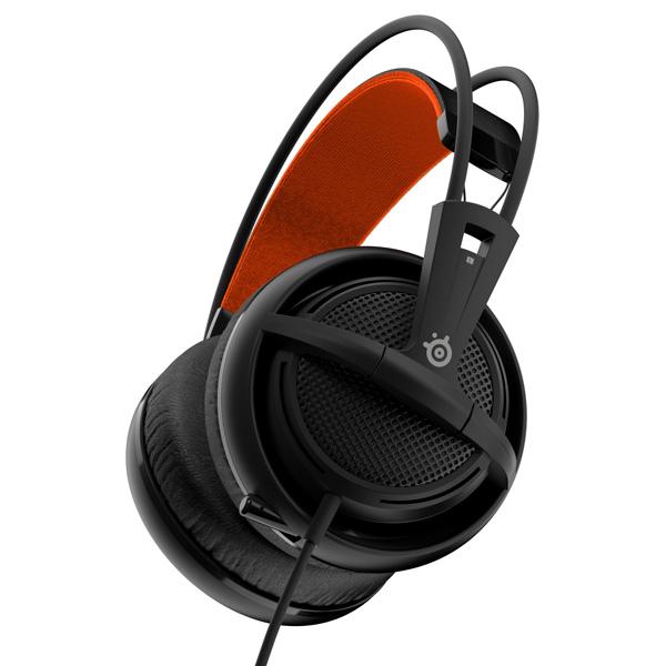 игровые наушники steelseries siberia v2 full size headset msi edition Игровые наушники Steelseries Siberia 200 Black (51133)