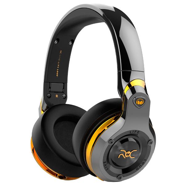 Наушники полноразмерные Monster ROC Sport Over-Ear Black Platinum (137044-00) охватывающие наушники monster 24k dj over ear headphones