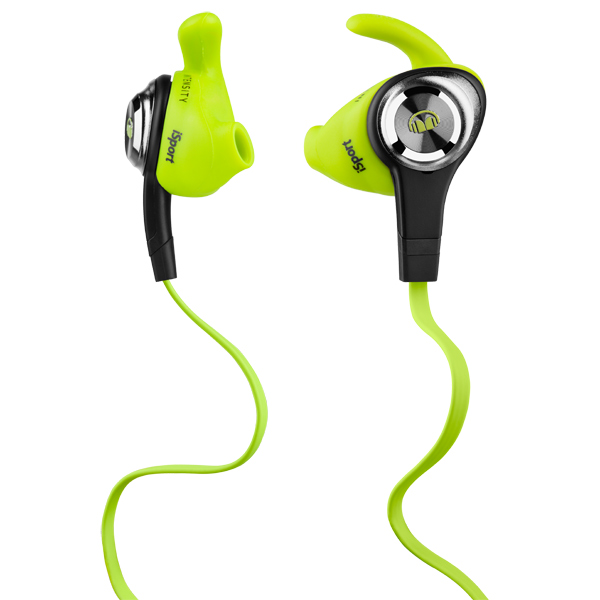 Спортивные наушники Monster iSport Intensity In-Ear Green (137009-00)
