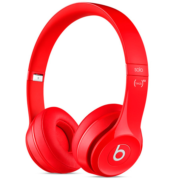 Наушники накладные Beats Solo 2 Red (MH8Y2ZE/A)