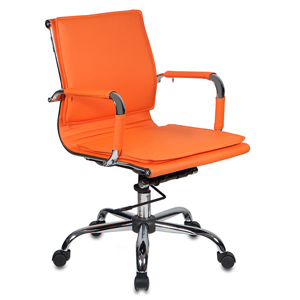 Кресло компьютерное Бюрократ CH-993-LOW/Orange сиденья водительское для ваз 2112