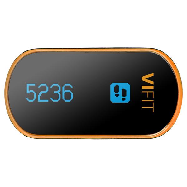 Фитнес-трекер Medisana ViFit Connect (79415) medisana шагомер карманный medisana vifit connect черный оранжевый