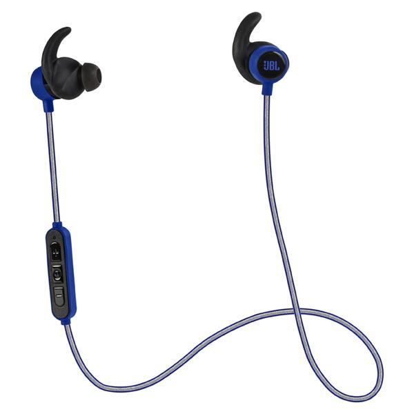 Спортивные наушники Bluetooth JBL Reflect Mini BT Blue (JBLREFMINIBTBLU) jbl synchros reflect bt sport