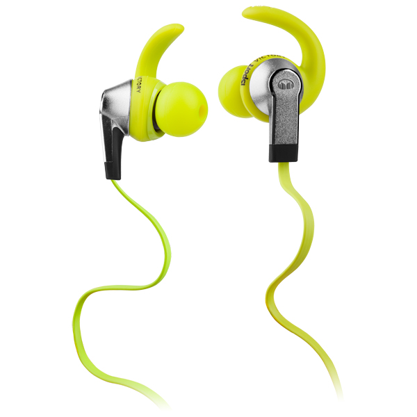 Спортивные наушники Monster iSport Victory In-Ear Green (137026-00) беспроводные наушники monster isport victory in ear wireless blue