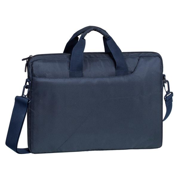 """Купить Кейс для ноутбука до 15"""" RIVACASE 8035 Dark Blue в каталоге интернет магазина М.Видео по выгодной цене с доставкой, отзывы, фотографии - Челябинск"""