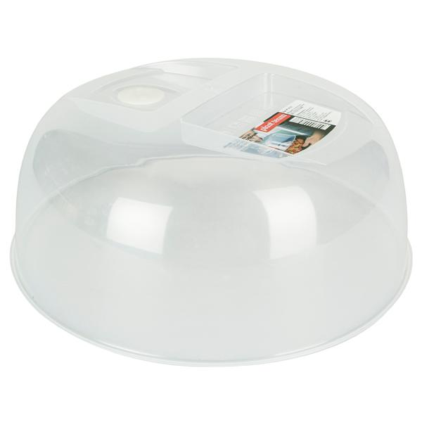 Крышка для посуды в микроволновую печь Plast Team РТ 9121/МНАТ27-РN 25,8см
