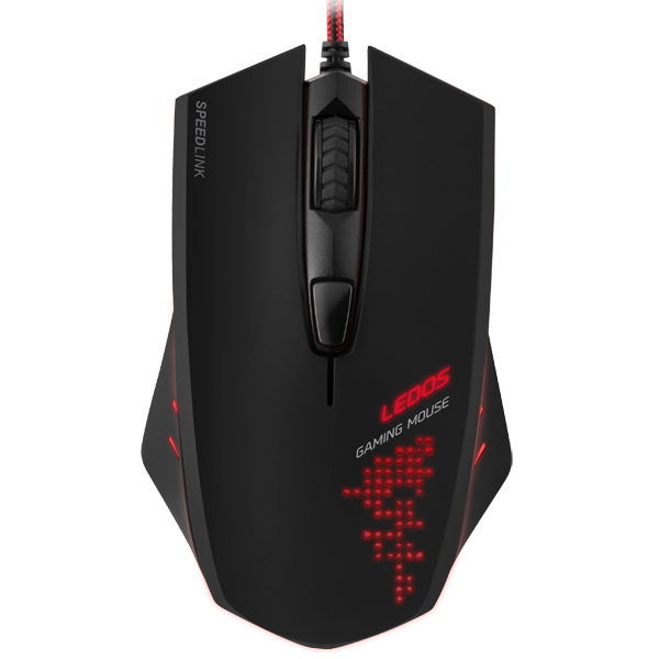 Игровая мышь SPEEDLINK LEDOS Black (SL-6393-BK)