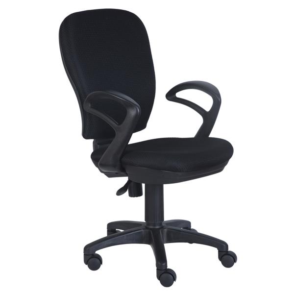 Кресло компьютерное Бюрократ черный