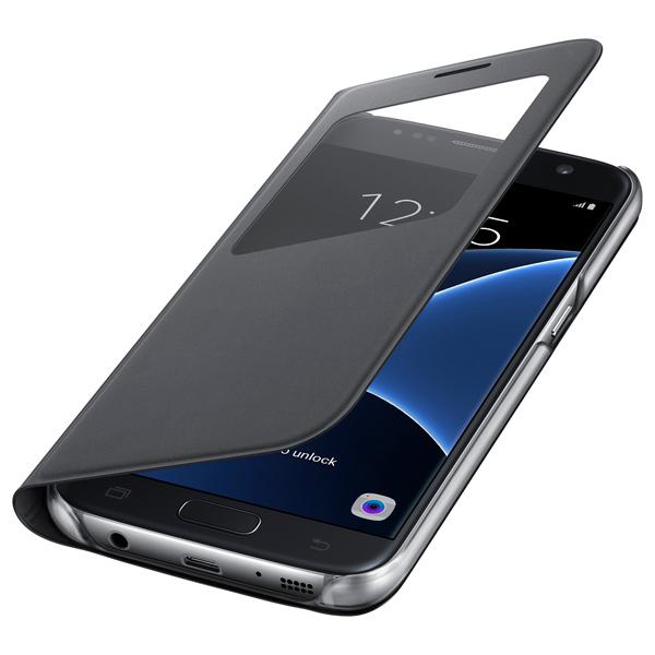все цены на Чехол для сотового телефона Samsung S View Cover S7 Black (EF-CG930PBEGRU) онлайн
