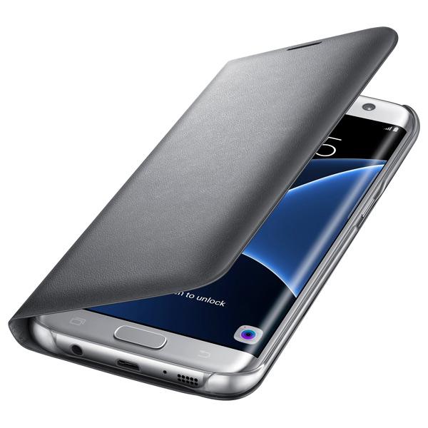 все цены на Чехол для сотового телефона Samsung LED View Cover S7 Edge Silver (EF-NG935PSEGRU) онлайн