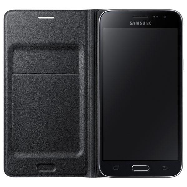 Чехол для сотового телефона Samsung Flip Wallet J3 Black (EF-WJ320PBEGRU) чехол samsung flip wallet для galaxy a710 белый ef wa710pwegru