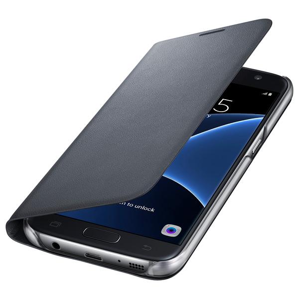 Чехол для сотового телефона Samsung LED View Cover S7 Black (EF-NG930PBEGRU)