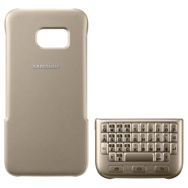 все цены на Чехол для сотового телефона Samsung Keyboard Cover S7 Gold (EJ-CG930UFEGRU) онлайн