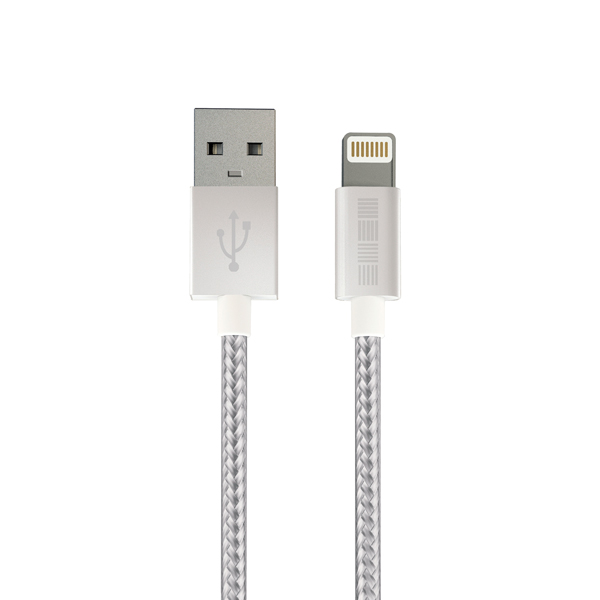 Кабель для iPod, iPhone, iPad InterStep IS-DC-IP5MFIMSL-000B201 кабель interstep usb apple 8pin mfi 1м