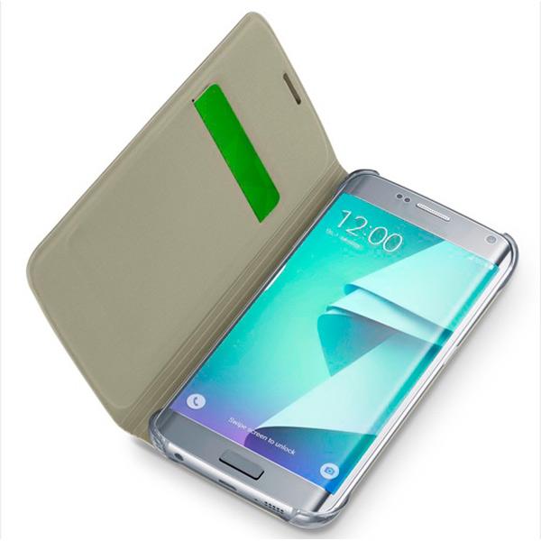 все цены на Чехол для сотового телефона Cellular Line для Samsung Galaxy S7 Edge (BACKBOOKGALS7EH) онлайн