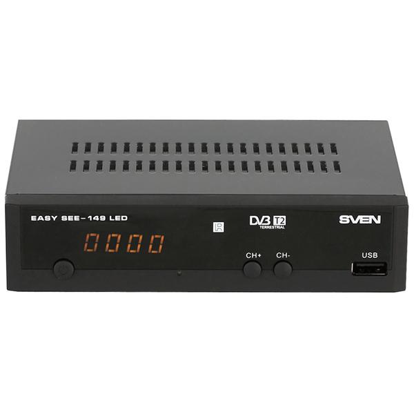 цена на Приемник телевизионный DVB-T2 Sven EASY SEE-149 LED