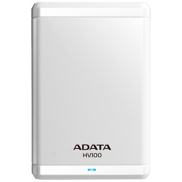 Внешний жесткий диск 2.5 ADATA AHV100-1TU3-CWH жесткий диск пк western digital wd40ezrz 4tb wd40ezrz