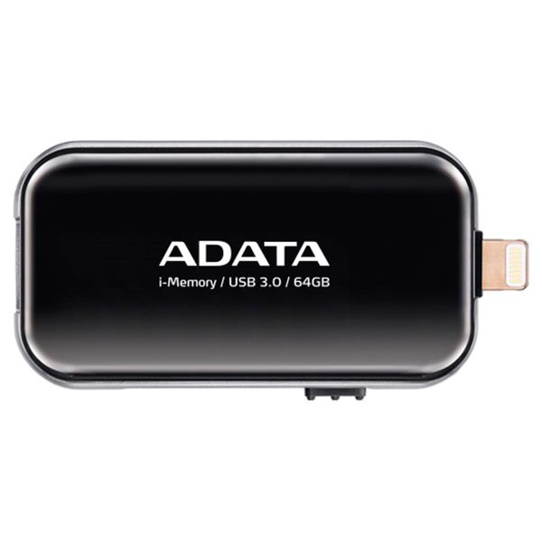 все цены на Флеш-диск для Apple ADATA AUE710-64G-CBK онлайн