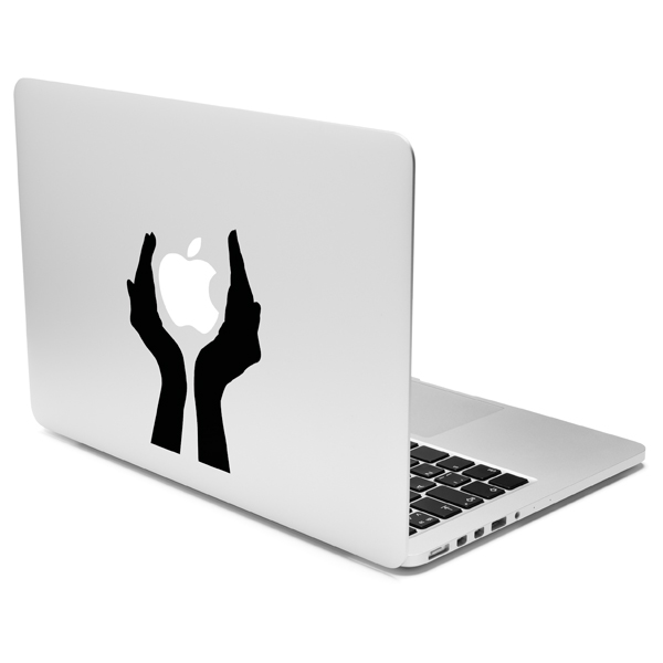 Кейс для MacBook Case It (наклейка на крышку) Holding Hands (CSMA13DLHOH) на заднюю крышку