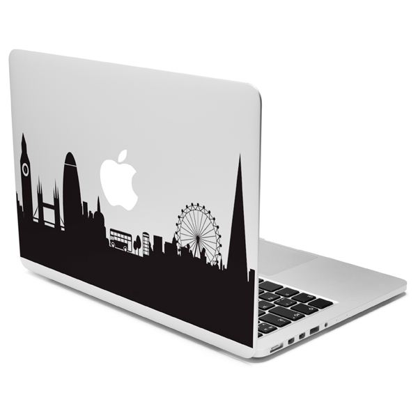 Case It, Кейс для macbook, (наклейка на крышку) London Skyline (CSMA13DLSKY)