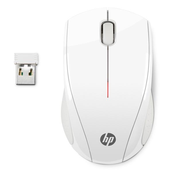 HP, Мышь беспроводная, X3000 White (N4G64AA)