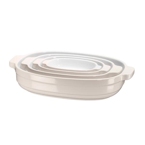 Форма для выпекания (керамика) KitchenAid набор KBLR04NSAC 4шт. kitchenaid форма для запекания 26х26 см черная