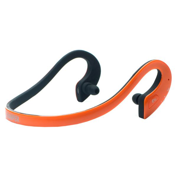 Спортивные наушники Bluetooth Harper HB-300 Orange спортивные наушники bluetooth harper hb 109 white