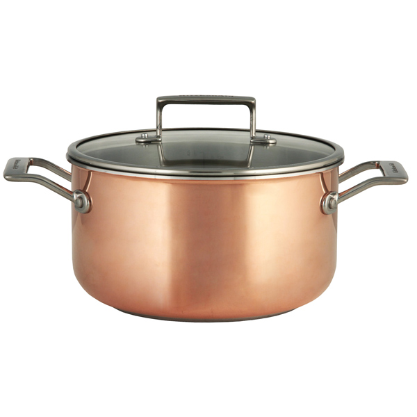 Кастрюля (сверхпрочное покрытие) KitchenAid KC2P60LCCP 5л kitchenaid набор прямоугольных чаш для запекания 0 45 л 2 шт красные