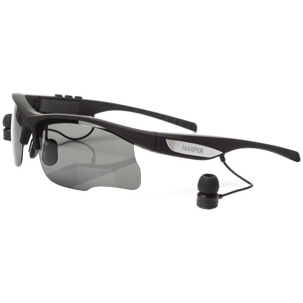 Спортивные наушники Bluetooth Harper HB-600 Black спортивные наушники bluetooth harper hb 109 white