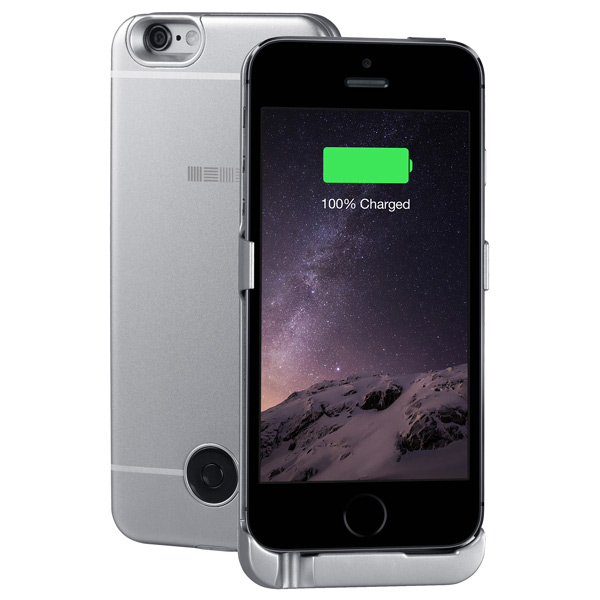 Чехол-аккумулятор InterStep для 5S/SE Space Gray (IS-AK-PCIP5SESG-000B201) клип кейс ibox crystal для iphone se 5 5s серый