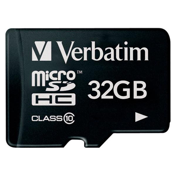 Карта памяти SDHC Micro Verbatim 32GB (44013)
