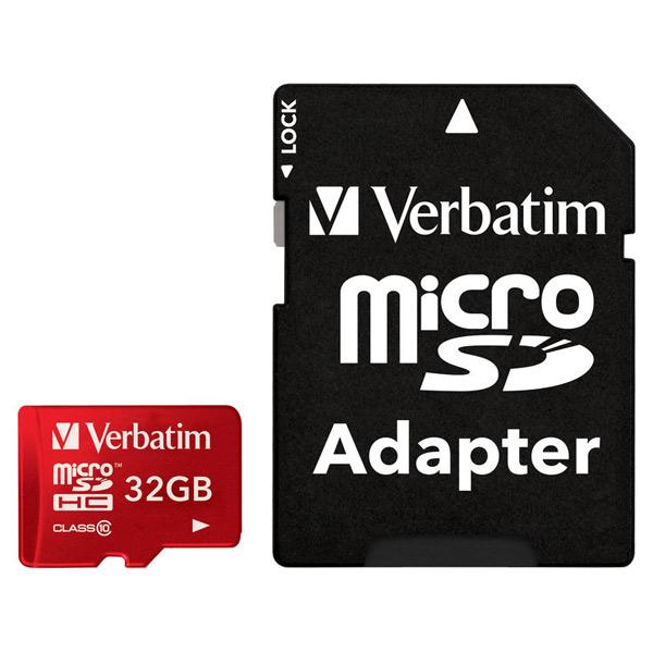 Карта памяти SDHC Micro Verbatim 32GB (44044) карты памяти