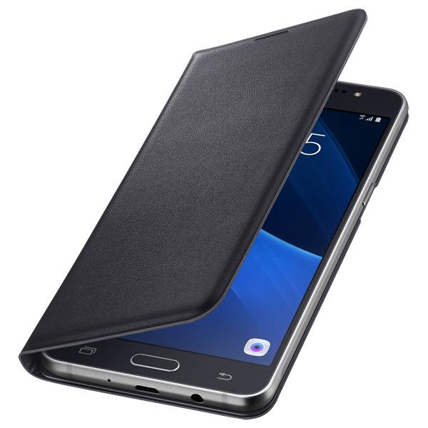 Чехол для сотового телефона Samsung Flip Wallet J5 Black (EF-WJ510PBEGRU)