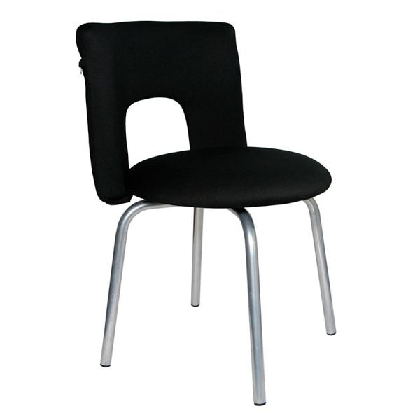 Кресло компьютерное Бюрократ KF-1/26-28 Black стул бюрократ kf 1 на ножках ткань черный [kf 1 black26 28]