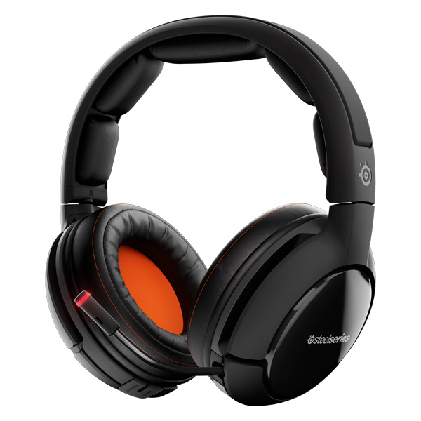 игровые наушники steelseries siberia v2 full size headset msi edition Игровые наушники Steelseries Siberia 800 Black (61302)