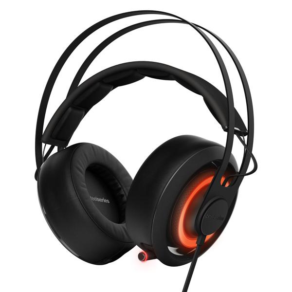 игровые наушники steelseries siberia v2 full size headset msi edition Игровые наушники Steelseries Siberia 650 Black (51193)